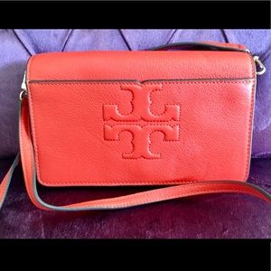 Authentic Tory Burch Crossbody Shoulder Bag